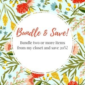 Bundle 2+ items, get 20% off!